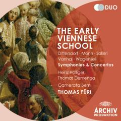The Early Viennese School - Dittersdorf / Monn / Salieri / Vanhal / Wagenseil: Symphonies and Concertos - Camerata Bern, Thomas Füri, Heinz Holliger, Thomas Demenga