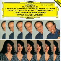 Mendelssohn: Concerto for Violin, Piano and Strings; Violin Concerto - Gidon Kremer, Martha Argerich, Orpheus Chamber Orchestra