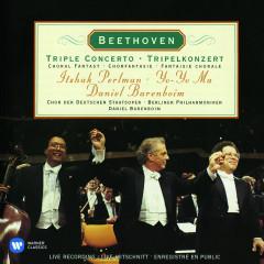 Beethoven: Triple Concerto, Op. 56 & Choral Fantasy, Op. 80 - Daniel Barenboim, Itzhak Perlman, Yo-Yo Ma, Berliner Philharmoniker, Chor des Deutschen Staatsoper