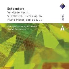 Schonberg : Verklärte Nacht, 5 Orchestral Pieces & Piano Works - Daniel Barenboim