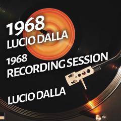 Lucio Dalla - 1968 Recording Session