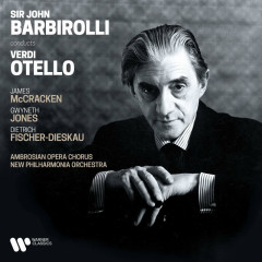 Verdi: Otello - James McCracken, Gwyneth Jones, Dietrich Fischer-Dieskau, New Philharmonia Orchestra, Sir John Barbirolli