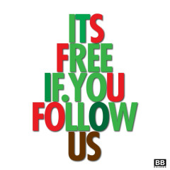 It's Free If You Follow Us