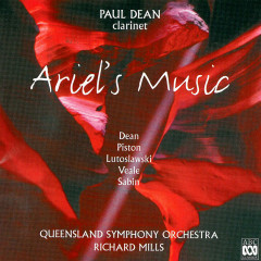 Ariel's Music - Paul Dean, Queensland Symphony Orchestra, Richard Mills