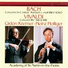 J.S. Bach: Concerto in C Minor / Vivaldi: Concerto in G Minor; Violin Concerto in D Major - Gidon Kremer, Heinz Holliger, Academy of St. Martin in the Fields