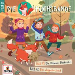 021/Fall 41: Die Walnuss-Nachricht/Fall 42: Der doppelte Hund - Die Fuchsbande