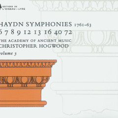 Haydn: Symphonies Vol.3 - The Academy of Ancient Music, Christopher Hogwood
