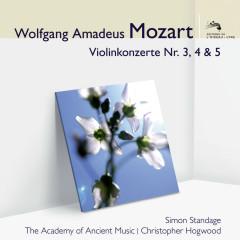 Mozart Violinkonzerte 3, 4 & 5 (Audior) - Simon Standage, The Academy of Ancient Music, Christopher Hogwood