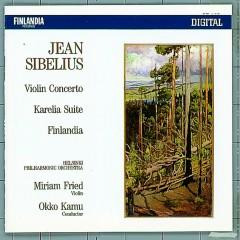Jean Sibelius : Violin Concerto, Karelia Suite, Finlandia - Helsinki Philharmonic Orchestra