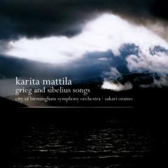 Grieg & Sibelius : Orchestral Songs - Karita Mattila