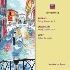 Brahms, Schumann: String Quartets - Musikverein Quartet