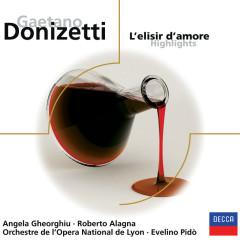 L'Elisir d'Amore (QS) - Angela Gheorghiu, Roberto Alagna, Roberto Scaltriti, Simone Alaimo, Orchestre de l'Opera National de Lyon
