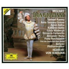 Mozart: Don Giovanni - Chor der Deutschen Oper Berlin, Berliner Philharmoniker, Herbert von Karajan