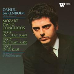 Mozart: Piano Concertos Nos. 14, 15 & 16 - Daniel Barenboim