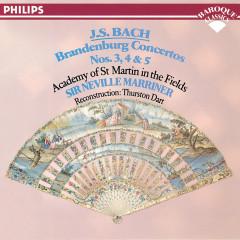 Bach, J.S.: Brandenburg Concertos Nos. 3, 4 & 5 - Academy of St. Martin in the Fields, Sir Neville Marriner