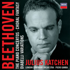 Beethoven: The Piano Concertos etc - Julius Katchen, London Symphony Orchestra, Piero Gamba