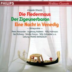 Goldene Operette / Der Zigeunerbaron - Eine Nacht in Venedig - Die Fledermaus - Ilse Hollweg, Sándor Kónya, Willy Schneider, Lothar Ostenburg, Ingeborg Hallstein