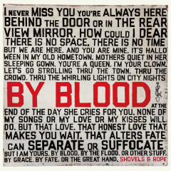 By Blood - Shovels & Rope