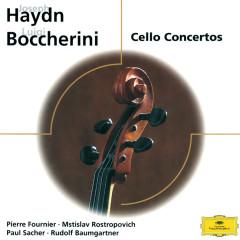 Haydn / Boccherini: Cello Conertos - Mstislav Rostropovich, Collegium Musicum Zurich, Paul Sacher, Pierre Fournier, Festival Strings Lucerne