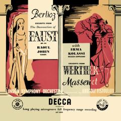 Berlioz: La damnation de Faust; Massenet: Werther – Excerpts (Opera Gala – Volume 2) - Irma Kolassi, London Symphony Orchestra, Anatole Fistoulari
