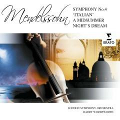 Italian Symphony/A Midsummer Night's Dream Suite - London Symphony Orchestra, Barry Wordsworth