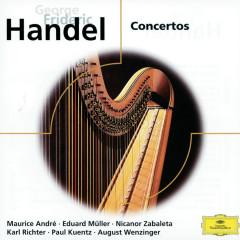 Händel: Concertos - Alfred Sous, Maurice Andre, Hedwig Bilgram, Eduard Müller, Nicanor Zabaleta