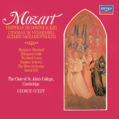 Mozart: Vesperae de Dominica; Litaniae de venerabili altaris sacramento - George Guest, Margaret Marshall, Margaret Cable, Wynford Evans, Stephen Roberts