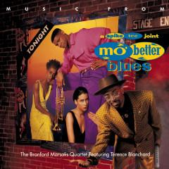 MUSIC FROM MO' BETTER BLUES - Branford Marsalis Quartet, Terence Blanchard