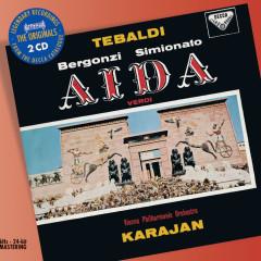 Verdi: Aida - Renata Tebaldi, Giulietta Simionato, Carlo Bergonzi, Singverein Der Gesellschaft Der Musikfreunde, Wiener Philharmoniker
