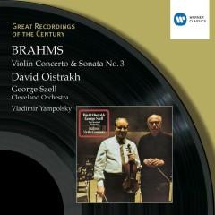 Brahms : Violin Concerto in D/Violin Sonata No.3 in D minor - David Oistrakh