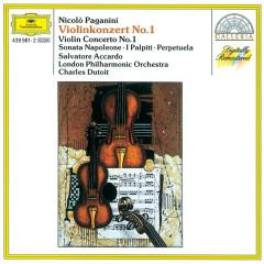 Paganini: Violin Concerto No. 1 · Sonata Napoleone · I Palpiti · Perpetuela - Salvatore Accardo, London Philharmonic Orchestra, Charles Dutoit