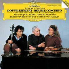 Brahms: Double Concerto In A Minor, Op. 102; Tragic Overture, Op. 81 - Anne-Sophie Mutter, Antonio Meneses, Berliner Philharmoniker, Herbert von Karajan