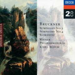 Bruckner: Symphonies Nos. 3 & 4 - Wiener Philharmoniker, Karl Böhm