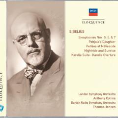 Sibelius: Symphonies 5, 6 & 7; Pohjola's Daughter; Pelleás et Mélisande - London Symphony Orchestra,Anthony Collins,Danish Radio Symphony Orchestra,Thomas Jensen
