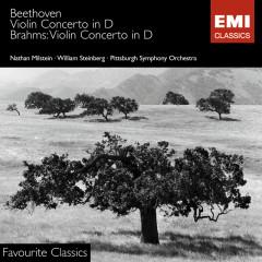 Beethoven & Brahms: Violin Concertos - Nathan Milstein, Pittsburgh Symphony Orchestra, Wilhelm Hans Steinberg