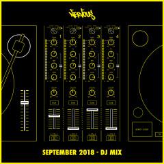 Nervous September 2018: DJ Mix - Various Artists