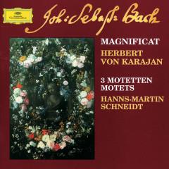 Bach: Magnificat; 3 Motets - Berliner Philharmoniker, Herbert von Karajan, Hanns-Martin Schneidt