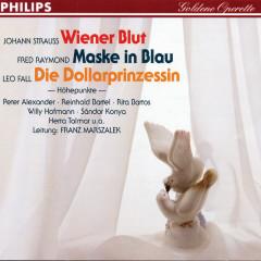 Wiener Blut - Maske in Blau - Die Dollarprinzessin - Rita Bartos, Herta Talmar, Sándor Kónya, Antonia Fahberg, Peter Alexander