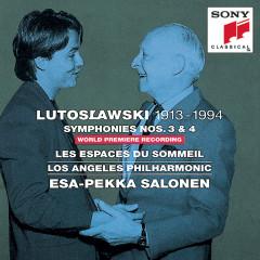Lutoslawski: Symphonies Nos. 3, 4 & Les espaces du sommeil - Various Artists