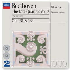 Beethoven: The Late Quartets, Vol.2 - Quartetto Italiano
