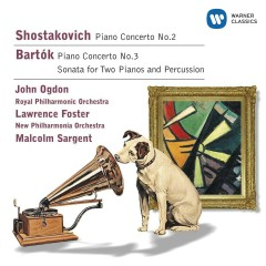 Shostakovich: Piano Concertos/Bartok: Sonata for 2 pianos & percussion - John Ogdon