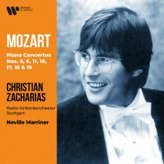 Mozart: Piano Concertos Nos. 5, 6, 11, 16, 17, 18 & 19 - Christian Zacharias, Radio-Sinfonieorchester Stuttgart, Sir Neville Marriner