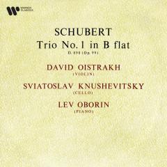 Schubert: Piano Trio No. 1, Op. 99, D. 898 - David Oistrakh, Sviatoslav Knushevitsky, Lev Oborin