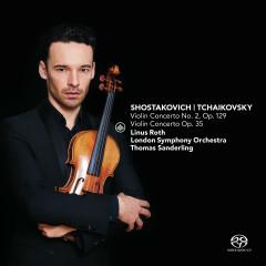Shostakovich: Violin Concerto No. 2, Op. 129 & Tchaikovsky: Violin Concerto, Op. 35