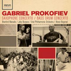 Gabriel Prokofiev: Saxophone Concerto, Bass Drum Concerto - Branford Marsalis, Joby Burgess, Alexey Bogorad