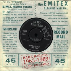 Rare B-Sides 1963-1989 - Cliff Richard