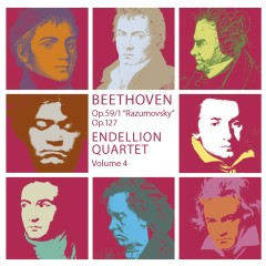 Beethoven : String Quartets Vol.4 - Endellion String Quartet