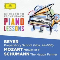 Piano Lessons - Beyer: Preparatory School, Op. 101; Mozart: Minuet in F, K. 2; Schumann: Album für die Jugend, Op. 68 - Christoph Eschenbach