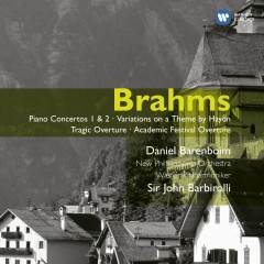 Brahms: Piano Concertos 1 & 2 - Variations on a Theme by Haydn - Tragic Overture - Academic Festival Overture - Daniel Barenboim, New Philharmonia Orchestra, Wiener Philharmoniker