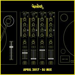 Nervous April 2017 (DJ Mix) - Various Artists